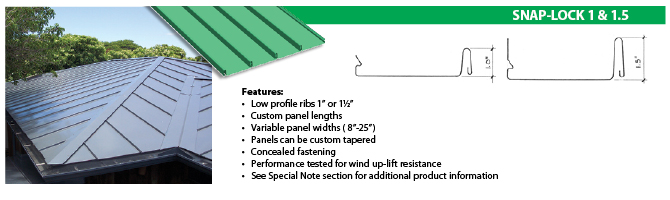 Custom Metal Roofing