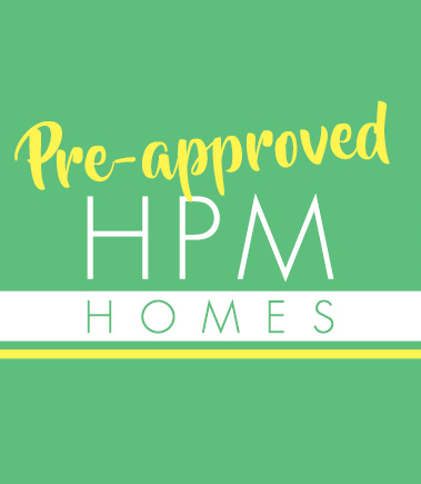 Pre-Approved HPM Homes Logo