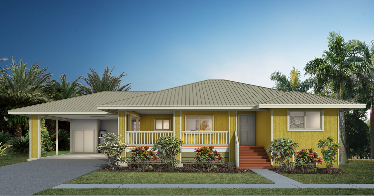 Kumukahi hpm building supply home plans materials for Hawaii home building packages