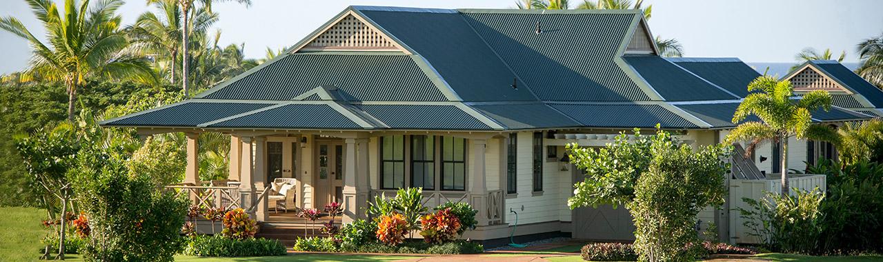 Custom Metal Roofing Hawaii Home Builders Hpm Building